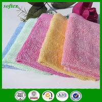 wholesale solid color bamboo cleaning dish cloth