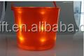 halloween christmas blue led lighted ice bucket