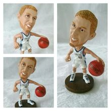 famous basketball player Miniature