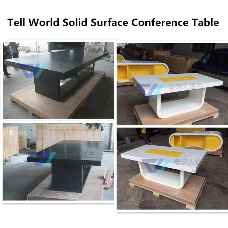 Wood Desk For Meetingartificial Stone Conference Table View Wood - 60 inch round conference table