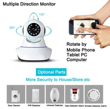 Factory Direct PTZ Wireless Night Vision Camera IP Wifi P2P