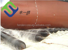 ISO 9001 Certificate Marine Rubber Inflatable Launching Ship Airbag used for Batam shipyard