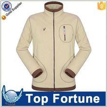 unisex wind stop fleece jacket