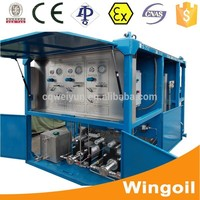 Skid Mounted Well Logging Pipe Hydraulic Pressure Testing Equipment for Oilfield and Gas Exploitation Operation