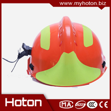 Professional Fireman Rescue Safety Helmet with high quality