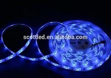 waterproof IP65 silicon coating, white PCB, 32 leds/m ws2811 5050 rgb led flexible strip