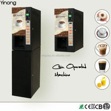 Yinong GTS103 3 hot & 3 cold flavors instant drinks beverage milk tea coffee fruit juice vending machine made in China