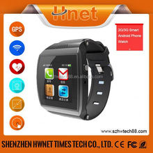 2015 fashion cheap price bluetooth watch wrist mobile with vibrating and ringing