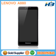 Tiptop Dual Sim China Mobile Lenovo A880 MTK6582 Quad Core1.3Ghz 6 inch Big Screen Android 4.2 MTK6582m ROM 8GB Dual SIM Card