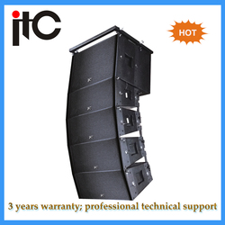 China professional active line array sound speaker box system