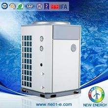 Top outlet plastic swimming pool heater thermodynamic solar panel