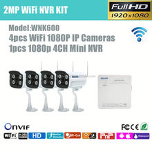 multi star 4ch dome and bullet ip network camera poe nvr kit, cctv outdoor camera system
