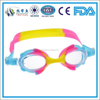 Best Kids funny silicone kids swimming goggles wholesale