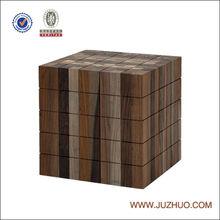 Living room furniture modern square side table design