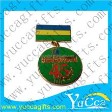 Custom LOGO Enamel Sports Medals, Free Design Fast Delivery