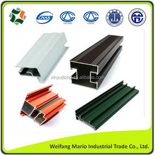 high quality customized aluminum extrusion profiles for doors windows and industrial use