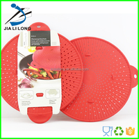 Silicone Pot Strainer Spill-proof Pot Cover