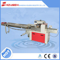 Complete in specifications horizontal cheese flow wrapping machine HSH-320