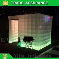 free ship 7.8ft with one door LED strip party photo booth rental