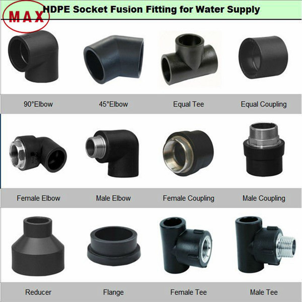Hdpe Flange Adapter Water Pipe Fittings Poly Pipe And