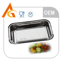 food takeaway aluminum foil containers with lid for packaging