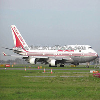 China air freight cost to India