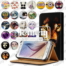 Jemeiy Original Newly Leather CellPhone Case For Samsung S6 S5 S4 S3 S2 S5mini S4 mini Wallet Book Folio Flip Stand Cover Bag