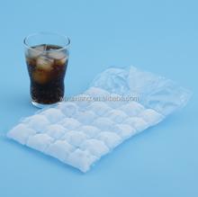 champagne in plastica usa e getta ldpe cubo di ghiaccio borsa