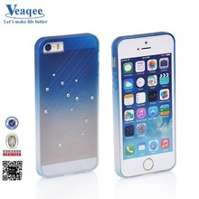Veaqee 2015 hot!!! beautiful design diamond mobile phone PC case,beautiful cell phone case for iphone 5s