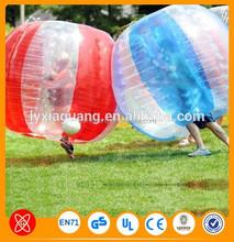احر بيع الإنسان الحجم ضياء، 1.2m 1.8m wubble المياه فقاعة الكرة البلاستيكية