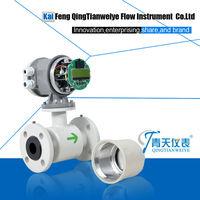 Pulse output normal saline flowmeter