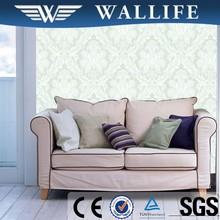 PL50604 latest design home decoration non woven classic damask wallpaper