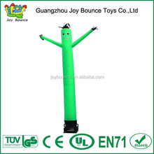 green air dancer fly guy inflatable sky air dancer , rental air dancer with blower
