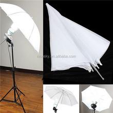 """43"""" Inch 110cm Studio Reflector White Soft Diffuser Umbrella for Photo"""