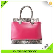 Chinese manufacturer factory design fashion women handbag