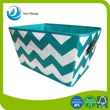 middle trapezoidal colorful non woven multifunctional fixed storage box