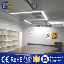 SMD chip 1200mm length linkable office led linear light with PMMA cover