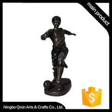 Resin Sculpture Craft/Sport Figure/Football Player Toy