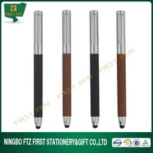 Hot Sale Customized Metal Leather Roller Pen For Promotion