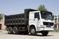 336hp used howo 6x4 dump truck 25ton