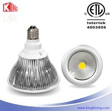 high lumen output led light par38 replace halogen cob spot