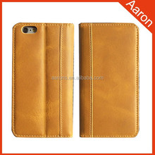 premium wallet leather case mobile phone case for iphone 6