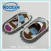 2015 new cheaper mop slipper,printed cleaning slipper small wholesale