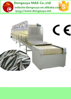 Seafood microwave drying equipment