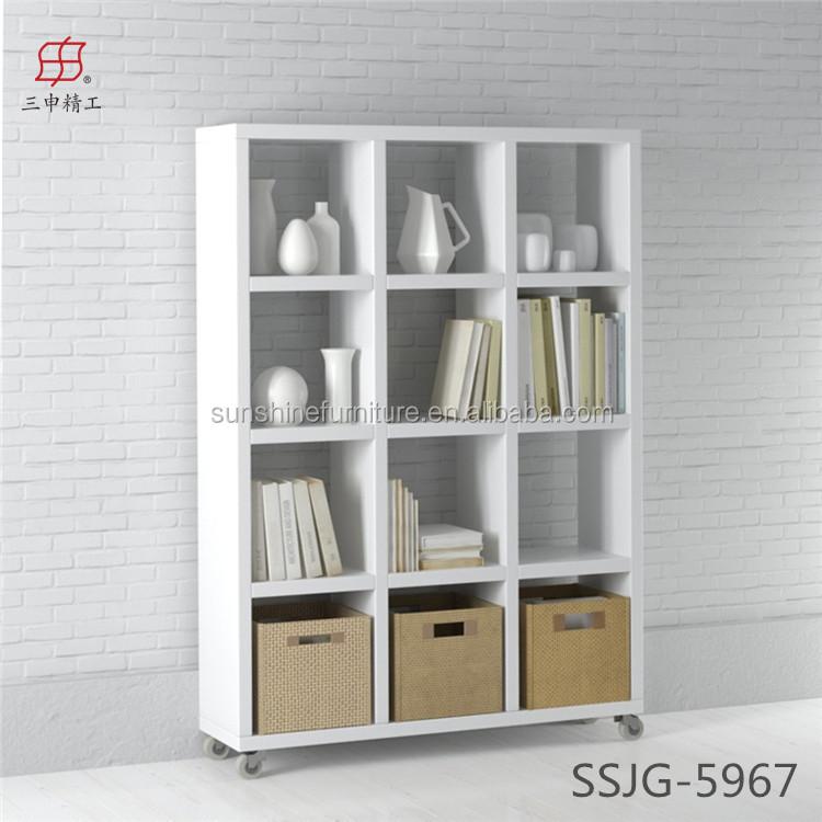 Hete koop goedkope moderne smalle boekenkast houten kasten product id 60230107255 - Moderne boekenkast ...
