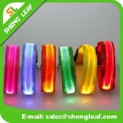 LED flashing light bracelet silicone LED bracelet