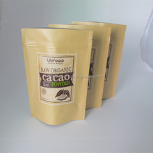 Guangdong manufacturer rice paper bag with window for food packaging