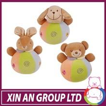high quality OEW design baby toys plush squirrel