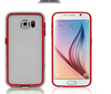 new arrival design pc+tpu colorful frame bumper case for samsung galaxy S6 accept paypal mobile phone case