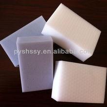 fácil de limpiar blanco comprimido esponja de la melamina